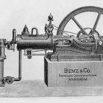 Benzinmotor von Benz