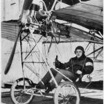 Luftfahrt, alte Aufnahmen - Luftschiffe, Flugzeuge