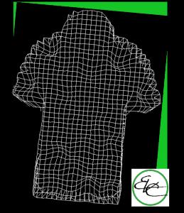 perfecte Tarnung mit dem Netz-Shirt