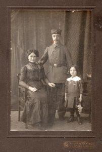 Soldaten-Familie