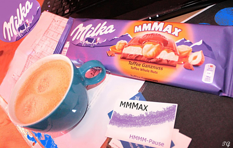 Milka MMMAX Produktwerbung